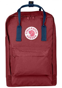 Fjällräven Kånken Laptop 13 inch, Ox Red - Royal Blue
