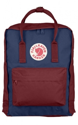 Fjällräven Kånken, Royal Blue - Ox Red