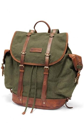 DRAKENSBERG Kimberley Backpack, Olivgrün