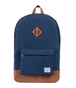 Herschel Heritage Backpack, Navy/Tan