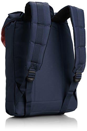 herschel retreat backpack navy tan vintage. Black Bedroom Furniture Sets. Home Design Ideas