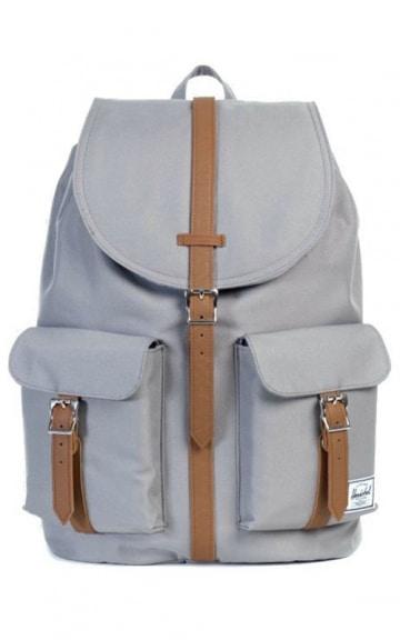herschel dawson backpack grey tan vintage. Black Bedroom Furniture Sets. Home Design Ideas