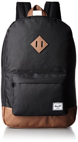 Herschel Heritage Backpack, Schwarz - Tan