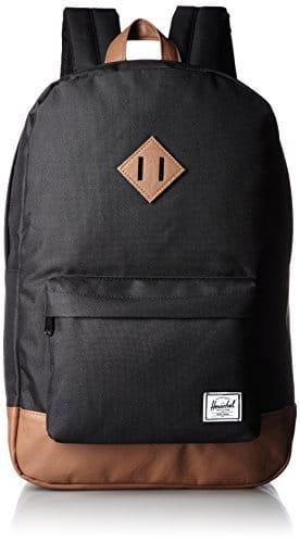 herschel heritage backpack schwarz tan vintage. Black Bedroom Furniture Sets. Home Design Ideas