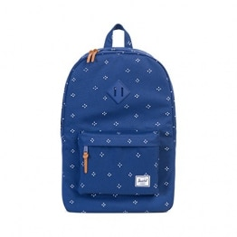 Herschel Heritage Backpack, Focus/Twilight Blue Rubber
