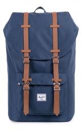 Herschel Little America Backpack, Navy/Tan