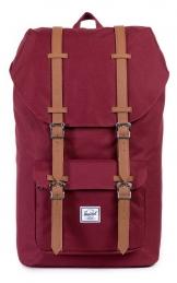 Herschel Little America Backpack, Windsor Wine/Tan