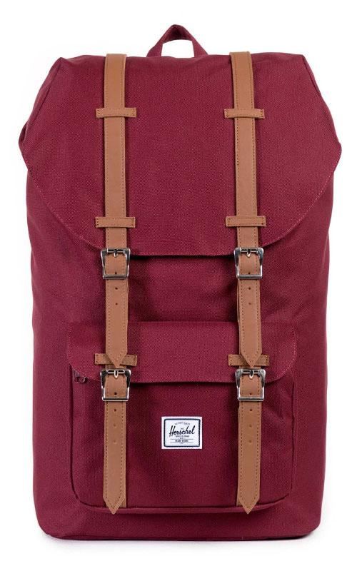 herschel little america backpack windsor wine tan vintage. Black Bedroom Furniture Sets. Home Design Ideas