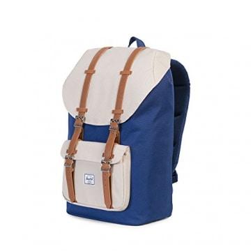 herschel little america backpack twilight blue pelican tan vintage. Black Bedroom Furniture Sets. Home Design Ideas