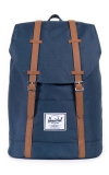 Herschel Retreat Backpack, Navy/Tan