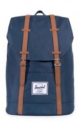Herschel Retreat Backpack, Navy/Tan