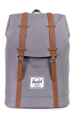 Herschel Retreat Backpack, Grau/Tan
