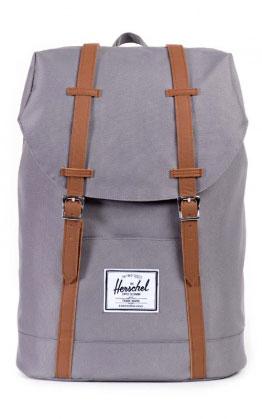 Herschel Retreat Backpack, Grau/Tan