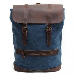 Y-DOUBLE Vintage Rucksack, Blau