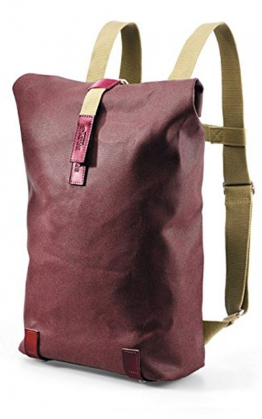 Brooks Pickwick Canvas, chianti/maroon