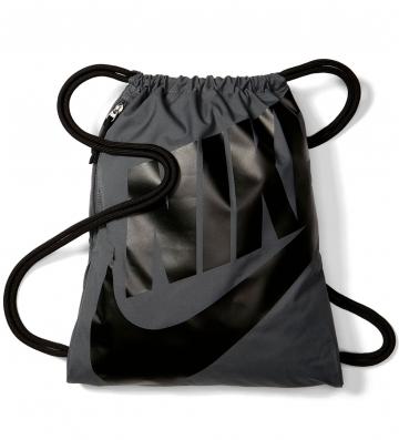 Nike Unisex Turnbeutel Heritage Dunkelgrau
